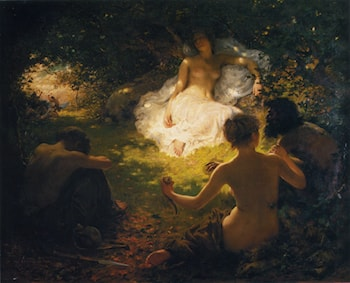 Serena Found of Savages by Thomas Benjamin Kennington
