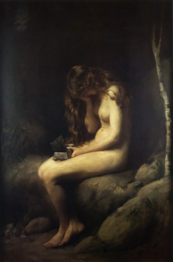 Pandora by Thomas Benjamin Kennington