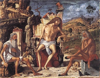 The Meditation on the Passion by Vittore Carpaccio