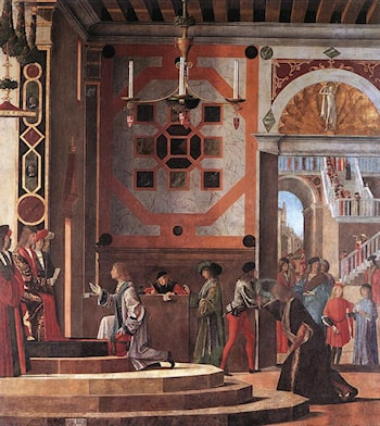 The Ambassadors Depart by Vittore Carpaccio