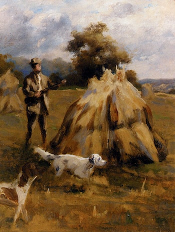 A Shooting Study by Percival Leonard Rosseau