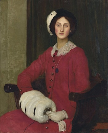 Portrait of Hilda Spencer Watson by George Spencer Watson