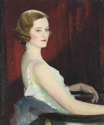 Portrait of Miss Beaton by George Spencer Watson