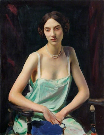 Woman in a Camisole by George Spencer Watson
