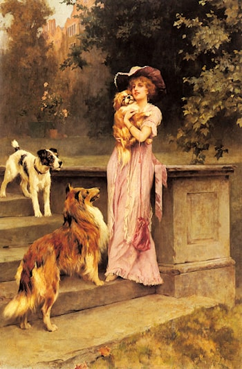 Afternoon Promenade by Arthur Wardle