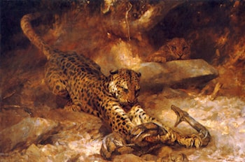 The Attack by Arthur Wardle