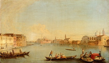 View Of San Giorgio Maggiore Seen From The South, Venice by Johann Richter