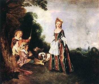 The Dance by Jean-Antoine Watteau
