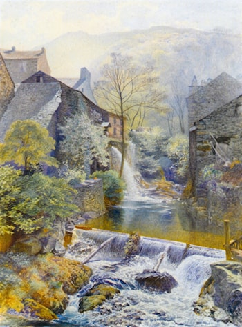 Ambleside Mill by Alfred William Hunt
