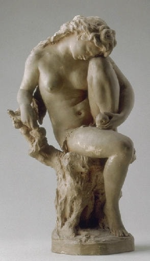Eve Holding an Apple by Jean-Baptiste Carpeaux
