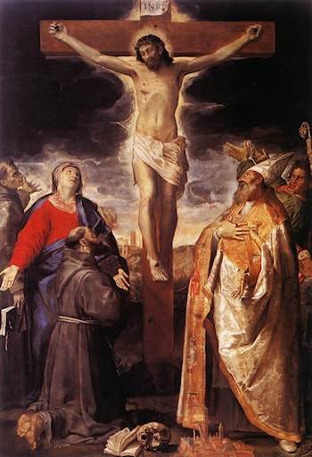 Crucifixion by Annibale Carracci