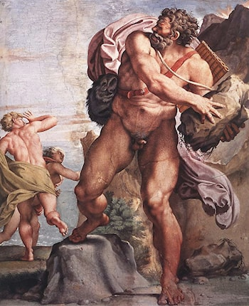 The Cyclops Polyphemus by Annibale Carracci