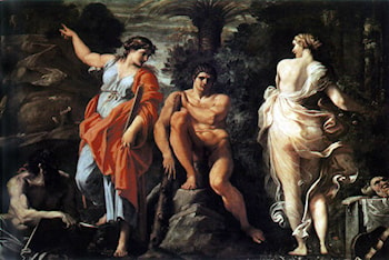 The Choice of Heracles by Annibale Carracci