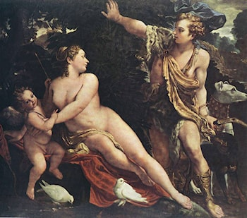 Venus and Adonis by Annibale Carracci
