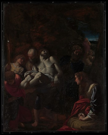 The Burial of Christ by Annibale Carracci