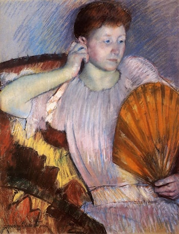 Contemplation by Mary Cassatt