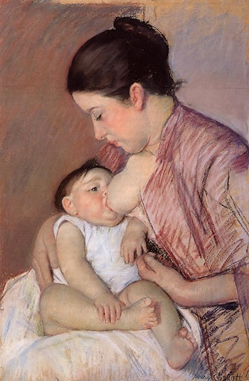 Motherhood by Mary Cassatt