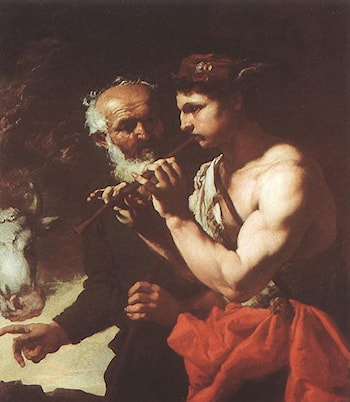 Mercury Piping to Argus by Johann Carl Loth