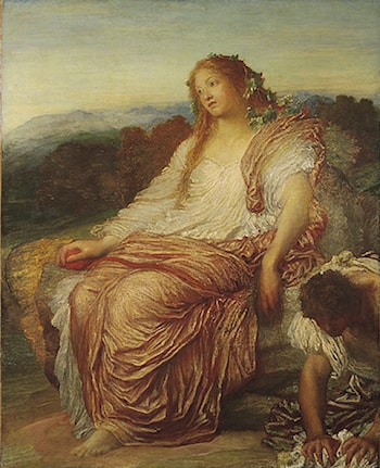 Ariadne by George Frederic Watts