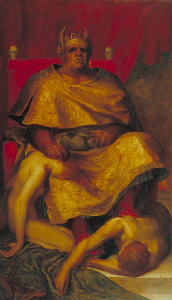 Mammon by George Frederic Watts