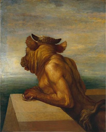 The Minotaur by George Frederic Watts
