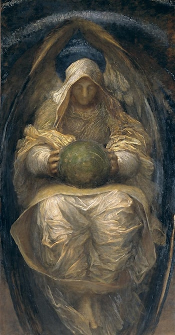 The All Pervading by George Frederic Watts