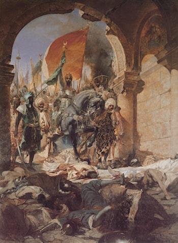 The Entry of Mahomet II into Constantinople by Benjamin Jean Joseph Constant