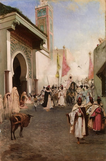 Entrance of Mohammed II into Constantinople by Benjamin Jean Joseph Constant