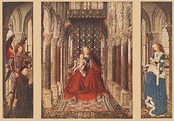 Small Triptych by Jan van Eyck