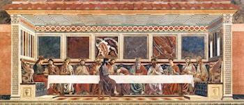 Last Supper by Andrea del Castagno