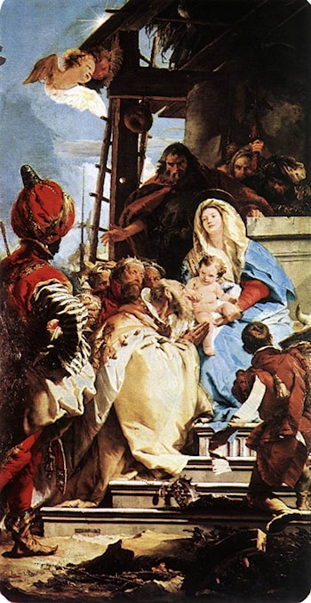 Adoration of the Magi by Giovanni Battista Tiepolo