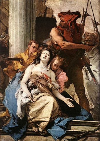 The Martyrdom of St Agatha by Giovanni Battista Tiepolo