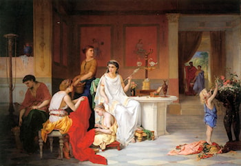 The Last Hour of Pompei by Pierre Oliver Joseph Coomans