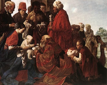 The Adoration of the Magi by Hendrick Terbrugghen