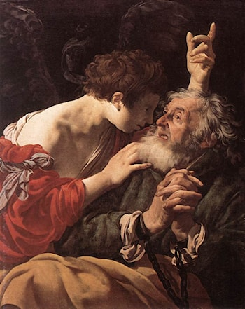 The Deliverance of St Peter by Hendrick Terbrugghen