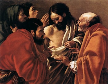 The Incredulity of Saint Thomas by Hendrick Terbrugghen