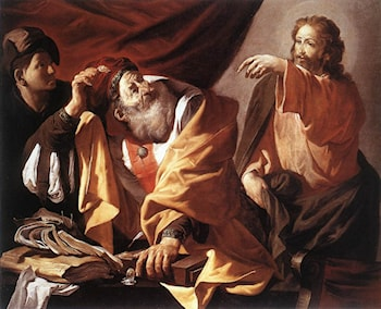 The Calling of St Matthew by Hendrick Terbrugghen