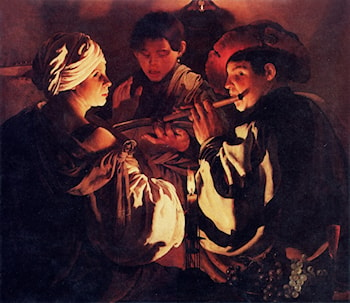 The Concert by Hendrick Terbrugghen