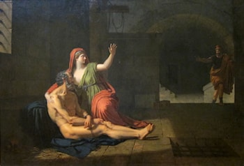 Cimon and Pero: Roman Charity by Francois-Xavier Fabre