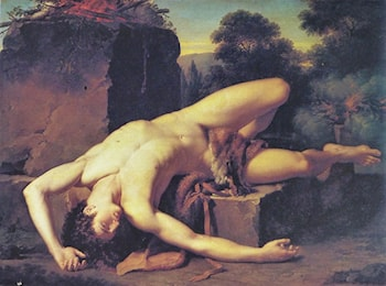 Death of Abel by Francois-Xavier Fabre