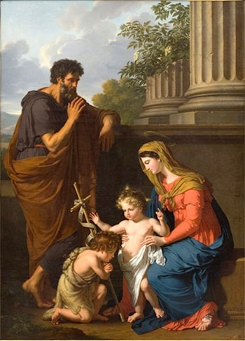 The Holy Family by Francois-Xavier Fabre