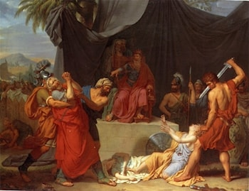 Nabuchodonosor Has Zedekiah's Children Killed before his Eyes by Francois-Xavier Fabre