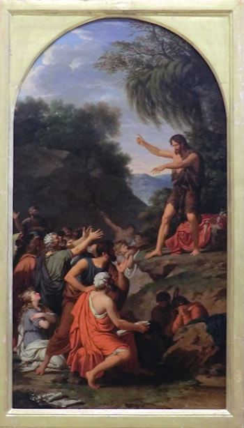 Preachings of Saint John the Baptist by Francois-Xavier Fabre