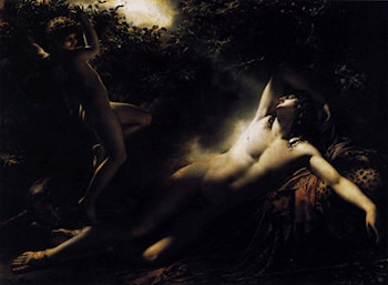 The Sleep of Endymion by Anne-Louis Girodet de Roucy-Triosson