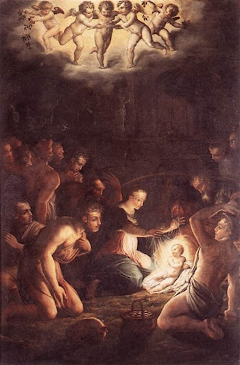 The Nativity by Giorgio Vasari
