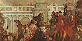 The Family of Darius before Alexander by Paolo Veronese