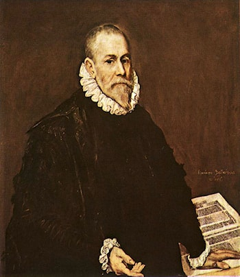 Portrait of a Doctor by El Greco