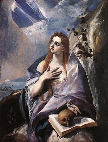 The Magdalene by El Greco