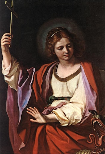 St Marguerite by Guercino