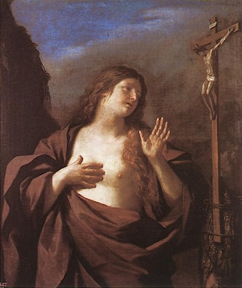 Mary Magdalene in Penitence by Guercino